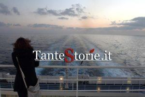 In viaggio sul traghetto Napoli - Palermo