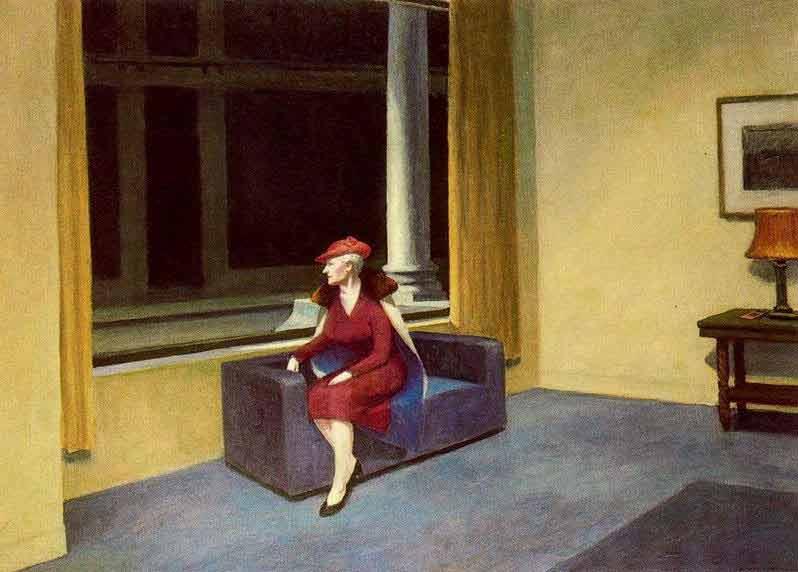 hotel window - Hopper