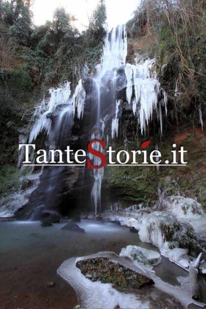 La cascata di Conca della Campania