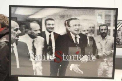 Giulio Andreotti con Nino Salvo all'hotel Zagarella nel 1978